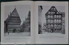 1915 magazine article about Münster GERMANY, & other German small towns, pre WWI