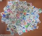 LOT OF OVER 460 USED WORLDWIDE STAMPS ALL DIFFERENT !!! FROM MANY COUNTRIES