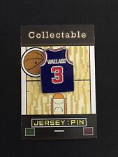 Detroit Pistons Ben Wallace lapel pin-Hardwood Collectable-#1 Best Seller/Gift