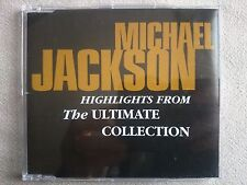 Michael Jackson Highlights From The Ultimate Collection SAMPCD 14500 2 Promo CD