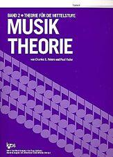 Nusiktheorie von Charles S. Peters und Paul Yoder Kjos Verlag Band 2 - Bd.2