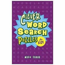 NEW - Clever Word Search Puzzles for Kids by Danna, Mark