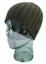 MENS RIBBED WINTER WARM ACRYLIC BEANIE SKI HAT FOR WINTER FASHION ITEM