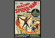 POSTER:THE AMAZING SPIDER-MAN #1 (March 1963) Marvel Comics Cover Poster Reprint