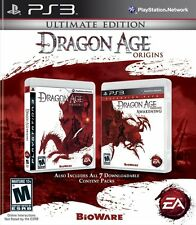 Dragon Age Origins: Ultimate Edition [PlayStation 3 PS3, Action Story RPG] NEW