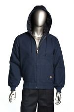 Dickies TJ718 Heavy Duty Windproof Canvas Lined Jacket with Hood