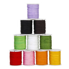 10 Rolls Nylon Cord Chinese Knot Thread Macrame Shambala Jewelry Bracelet 0.8mm