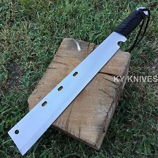"19"" HUNTING JUNGLE MACHETE KNIFE MILITARY TACTICAL SURVIVAL SWORD W/ SHEATH"