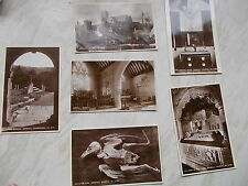 A Collection of 6 Vintage Postcards Of Godshill Church -5 Are Real Romide photos