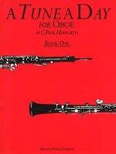 A Tune A Day For Oboe Learn to Play Easy Beginner Lesson Tutor Music Book 1