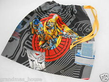 Transformers Library Bag  Bumblebee - Accessory Drawstring Tote Great Gift Idea!