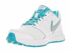 Nike Womens Teal Blue White Silver Downshifter 6 Running Shoes Size 8 NEW