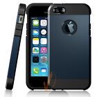 Apple iPhone 5 5S 5G Case, Shockproof Dirt Dust Proof Hard Soft Dual Cover Case