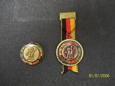 world cup 1974 pin badge and medal