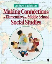 Making Connections in Elementary and Middle School Social Studies Johnson, Andr