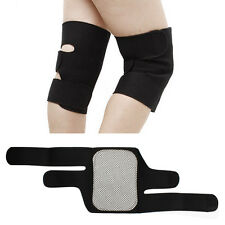 2X Magnetic Therapy Knee Support Pad Self Heating Massager Belt For Pain Relief