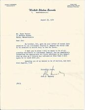 JOHN KENNEDY JFK SIGNED 1954 LETTER PSA/DNA CERTIFIED AUTHENTIC AUTOGRAPH RARE!