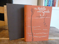 Folio Society THE RIDDLE OF THE SANDS By Erskine Childers in slipcase Hbk Vgc