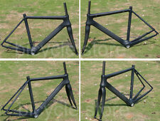 F905 Full Carbon Matt Black 700C Cycling Road Bike Bicycle Frame 50cm And Fork