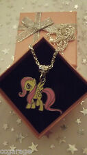 My Little Pony Fluttershy Fascino Collana A FORTE TORSIONE Catena, Gift Box, Magic