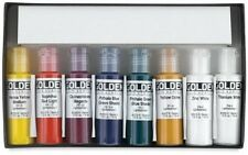 Golden -Fluid Acrylic 8-Color Set- 0000918-0 Fluid Acrylic NEW