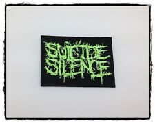 Suicide Silence Sew Iron On Patch Rock Band Heavy Metal American Deathcore Music