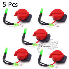 5x Gas On Off Kill Switch For Gasoline Generator 5.5/6.5/7/8/11/13HP 168F/188F