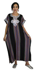 Caftan Handmade Moroccan Women Maxi Dress Swim Suit Cover Up Long Wear Abaya