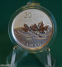 2012 CANADA $20 for $20 Farewell to Penny silver coin  - #5 in series-coin only