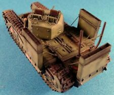 Milicast WAD03 1:76 Resin WWII Churchill Wading Trunking & Extended Exhaust