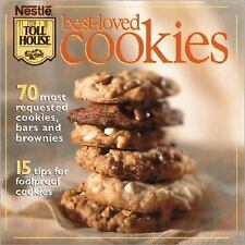 NESTLE TOLL HOUSE BEST-LOVED COOKIES BOOK 70 COOKIES, BROWNIES, BAR RECIPES NEW