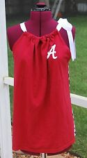 Custom for Dpeeks Univ of Alabama Pillow Case Tank Shirt,  Houndstooth Back XL