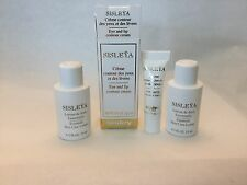 Sisley Sisleya Eye And Lip Contour Cream .07oz 2 ml & 2 Skin Lotion Bonus sample