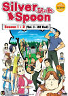 Silver Spoon Season 1 + 2 (TV 1 - 22 End) DVD + Free Gift