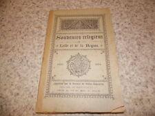 1894.Souvenirs religieux de Lille et de la région (1893-94)..