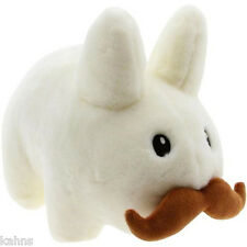 "kidrobot Stache White Labbit 14 ""  Plush *NEW* Rabbit - NWT - Kozik"