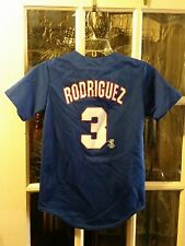 Alex Rodriguez Texas Rangers Jersey Youth M Calgary Cannons Mariners Yankees