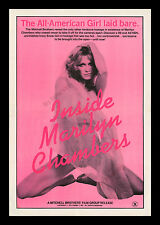 ☆ INSIDE MARILYN CHAMBERS ☆ ORIGINAL 1975 X-RATED MOVIE POSTER & PRESS AD-MATS!