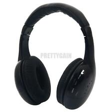NEW 5 IN 1 HI-FI MH2001 WIRELESS EARPHONE HEADSET HEADPHONE FOR FM RADIO MP3 TV