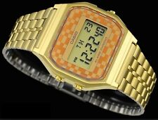 Casio Vintage Watch * A159WGEA-9A Classic Digital Gold Steel COD PayPal