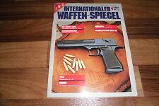 INTERNATIONALER WAFFEN SPIEGEL  4/1985 -- Mafia-Schrotpistole/Kipplaufbüchse TCR