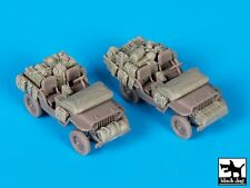 Black Dog 1/72 US Jeep Stowage and Accessories Set (for Dragon kit) T72082