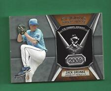 2013 Topps Cy Young Award Winner Trophy ZACK GREINKE Kansas City Royals