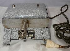 ancien gaufrier tôle émaillée LUXECHOR 220 V / vintage Waffle iron cuisine