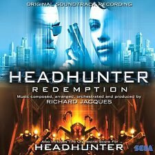 Headhunter Soundtrack Autographed by Mass Effect Composer Richard Jacques - New!