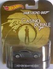 1/64 Hot Wheels Retro James Bond CASINO ROYALE ASTON MARTIN DBS