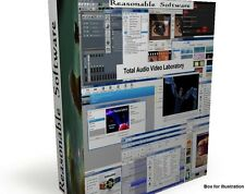 Audio Video DVD conversion recording editing formatting - complete software kit