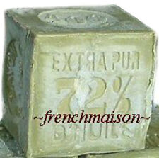 HANDMADE Provence Savon de Marseille OLIVE OIL FRENCH SOAP 400g South of France