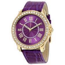 Boum Belle Purple Dial Purple Leather Ladies Watch BM2601