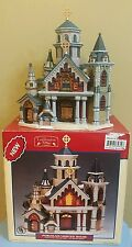 Lemax Caddington Village Needham Community Church Porcelain Lighted House 2003